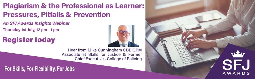 Banner for Plagiarism and the Professional as Learner